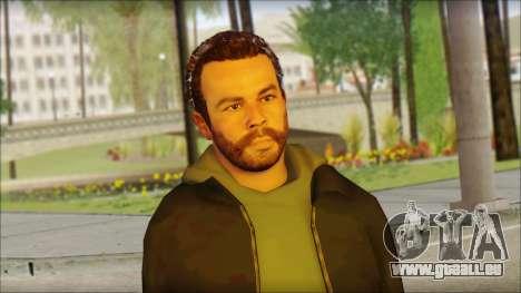 GTA 5 Ped 20 pour GTA San Andreas troisième écran