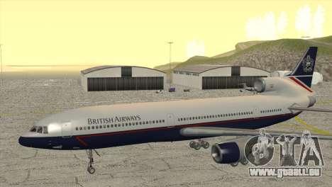 Lockheed L1011 Tristar British Airways pour GTA San Andreas