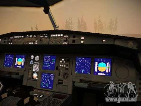 Airbus A340-300 Virgin Atlantic pour GTA San Andreas roue