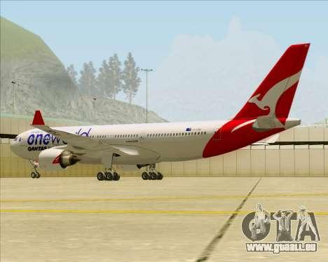 Airbus A330-200 Qantas Oneworld Livery pour GTA San Andreas salon