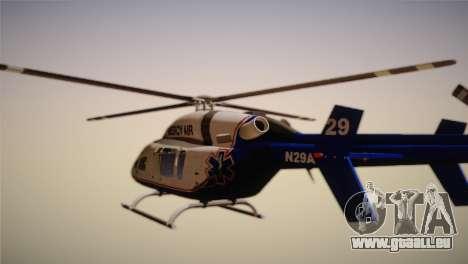 Bell 429 v3 pour GTA San Andreas laissé vue