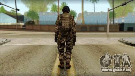 Les soldats de l'UNION européenne (AVA) v5 pour GTA San Andreas deuxième écran
