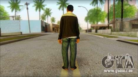 GTA 5 Ped 17 pour GTA San Andreas deuxième écran