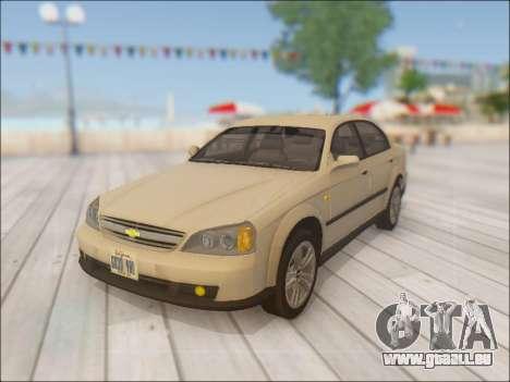 Chevrolet Evanda pour GTA San Andreas