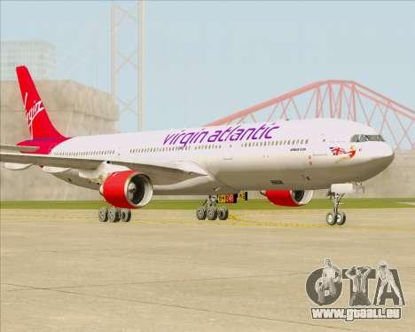 Airbus A330-300 Virgin Atlantic Airways pour GTA San Andreas laissé vue