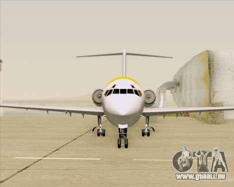 McDonnell Douglas MD-82 Iberia für GTA San Andreas Innen