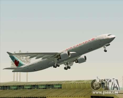Airbus A330-300 Air Canada pour GTA San Andreas moteur