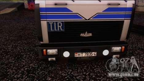 MAZ 642208 pour GTA San Andreas vue de droite