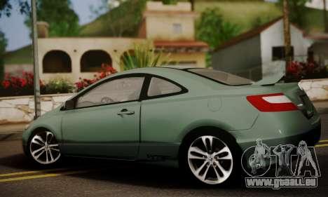Honda Civic SI 2006 pour GTA San Andreas laissé vue