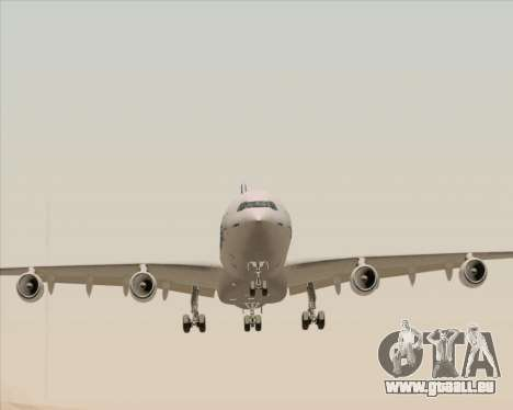 Airbus A340-311 House Colors für GTA San Andreas Rückansicht