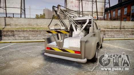 Vapid Tow Truck Jackrabbit pour GTA 4 Vue arrière de la gauche