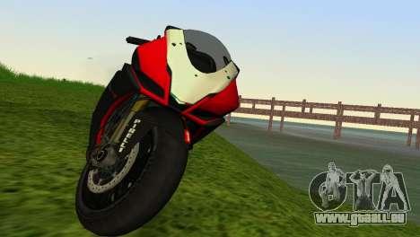 Aprilia RSV4 2009 Edition I pour une vue GTA Vice City de la droite
