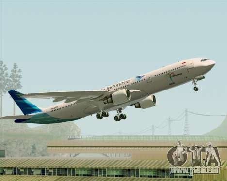 Airbus A330-300 Garuda Indonesia für GTA San Andreas