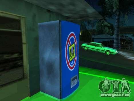Maschine mit dem trinken Nicht Aufhören, von Sta für GTA San Andreas zweiten Screenshot