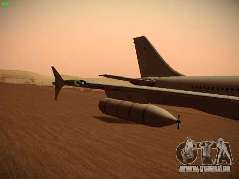 Airbus A310 MRTT Luftwaffe (German Air Force) für GTA San Andreas Motor