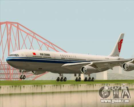 Airbus A340-313 Air China pour GTA San Andreas laissé vue