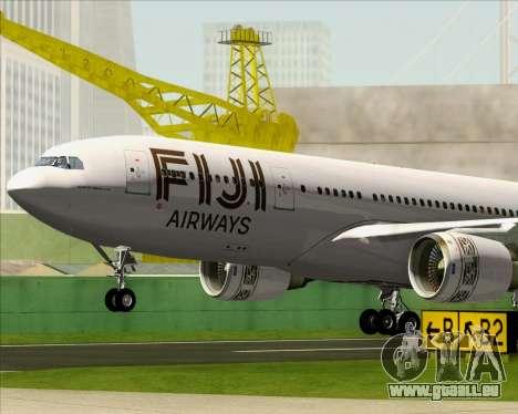 Airbus A330-200 Fiji Airways für GTA San Andreas Innen