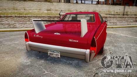 Albany Buccaneer Modified pour GTA 4 Vue arrière de la gauche
