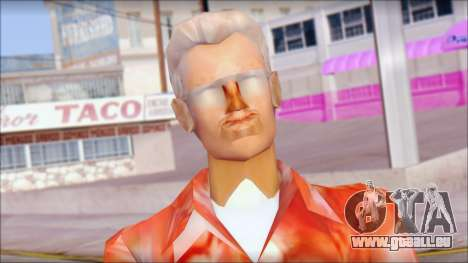 Doc from Back to the Future 2015 pour GTA San Andreas troisième écran