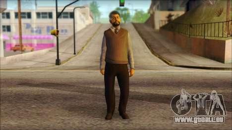GTA 5 Ped 16 pour GTA San Andreas
