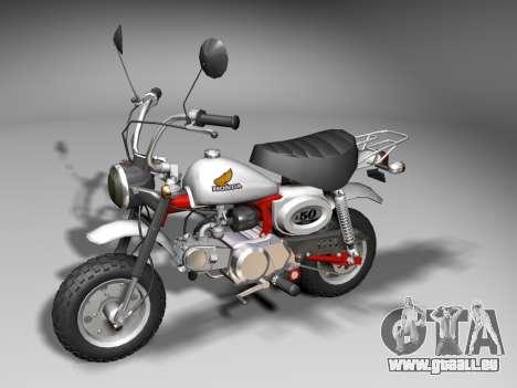 Honda Z50J Monkey für GTA San Andreas