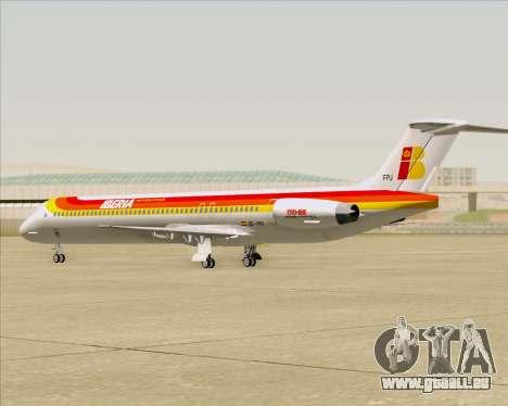 McDonnell Douglas MD-82 Iberia pour GTA San Andreas vue de côté