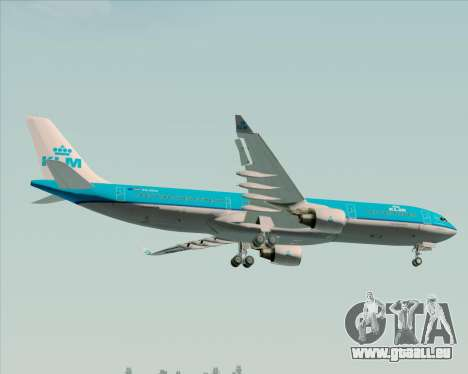 Airbus A330-300 KLM Royal Dutch Airlines pour GTA San Andreas roue