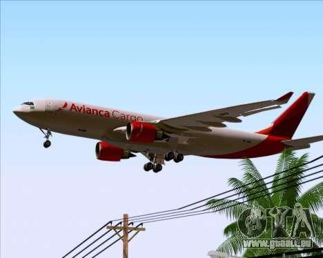 Airbus A330-243F Avianca Cargo für GTA San Andreas Motor