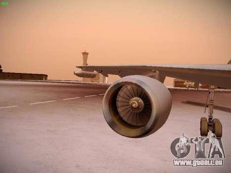 Airbus A310 MRTT Luftwaffe (German Air Force) pour GTA San Andreas roue