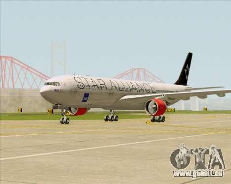 Airbus A330-300 SAS (Star Alliance Livery) für GTA San Andreas linke Ansicht