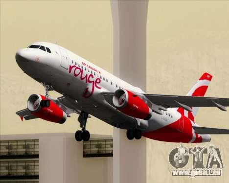 Airbus A319 Air Canada Rouge für GTA San Andreas