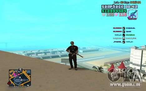 C-HUD GTA Vice City edited SampHack pour GTA San Andreas deuxième écran