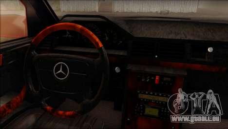 Mercedes-Benz W210 E55 für GTA San Andreas zurück linke Ansicht