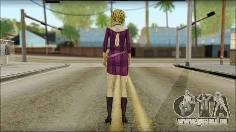 Vivian from Wolf Among Us für GTA San Andreas zweiten Screenshot