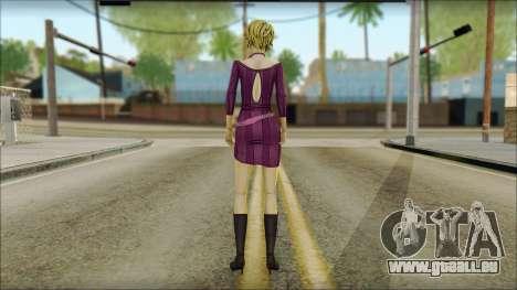Vivian from Wolf Among Us für GTA San Andreas zweiten Screenshot