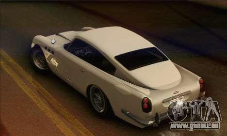 DewBauchee JB-700 1.0 (HQLM) pour GTA San Andreas sur la vue arrière gauche