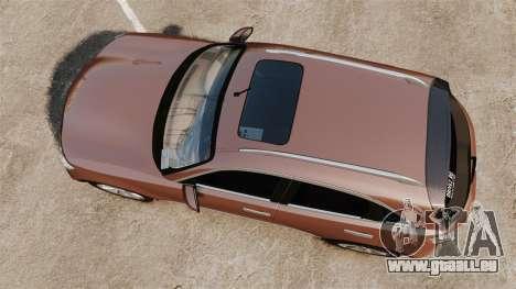 Infiniti FX 45 2008 RP pour GTA 4 est un droit