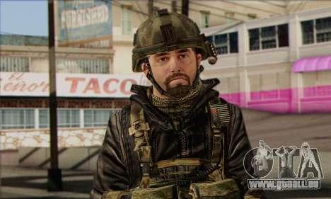 Task Force 141 (CoD: MW 2) Skin 8 pour GTA San Andreas troisième écran