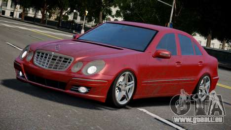 Mercedes-Benz E320 für GTA 4 linke Ansicht