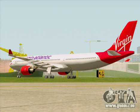 Airbus A330-300 Virgin Atlantic Airways für GTA San Andreas rechten Ansicht
