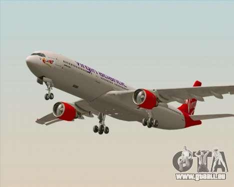 Airbus A330-300 Virgin Atlantic Airways pour GTA San Andreas vue arrière