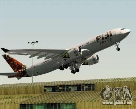 Airbus A330-200 Fiji Airways für GTA San Andreas Unteransicht