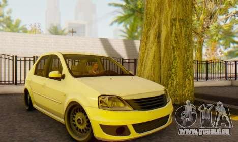Dacia Logan White für GTA San Andreas