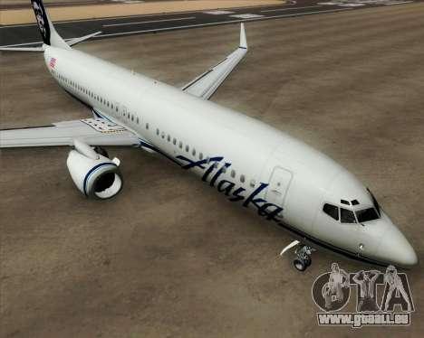 Boeing 737-890 Alaska Airlines für GTA San Andreas