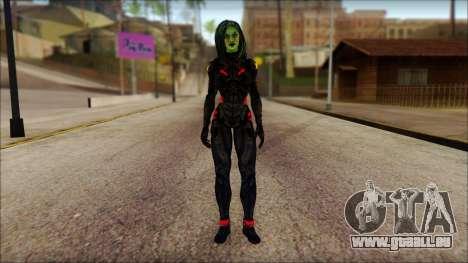 Guardians of the Galaxy Gamora v1 für GTA San Andreas