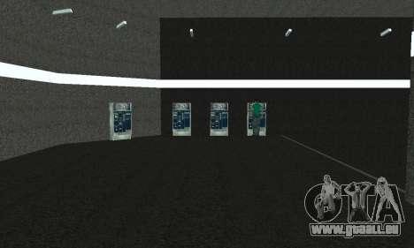 Eine neue U-Bahn-station in San Fierro für GTA San Andreas sechsten Screenshot