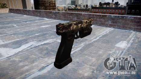 Pistole Glock 20 zombies für GTA 4 Sekunden Bildschirm