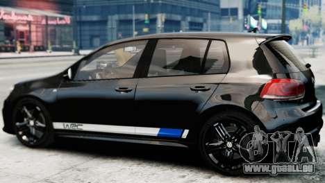 Volkswagen Golf R 2010 Polo WRC Style PJ1 pour GTA 4 est une gauche