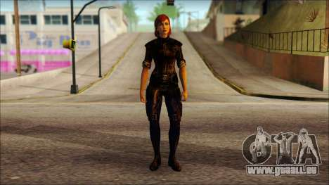 Mass Effect Anna Skin v6 pour GTA San Andreas