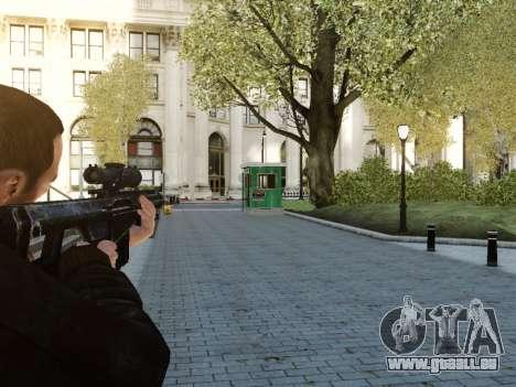 Barrett M107CQ für GTA 4 Sekunden Bildschirm
